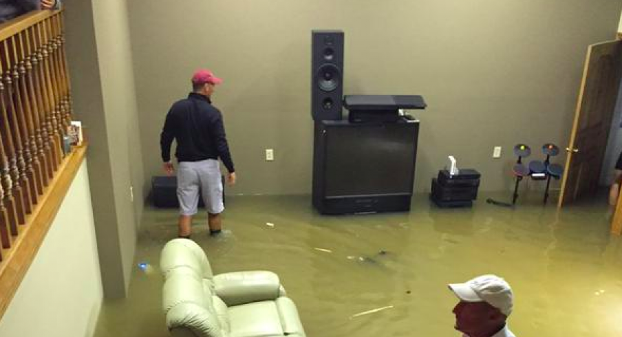 Basement Flood In Cleveland Oh Ohio State Waterproofing