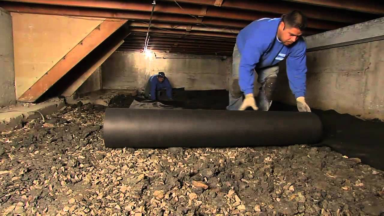 Crawl Space Waterproofing Ohio State Waterproofing