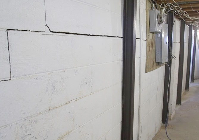permalink foundation wall repair gallery - Crack In Basement Wall