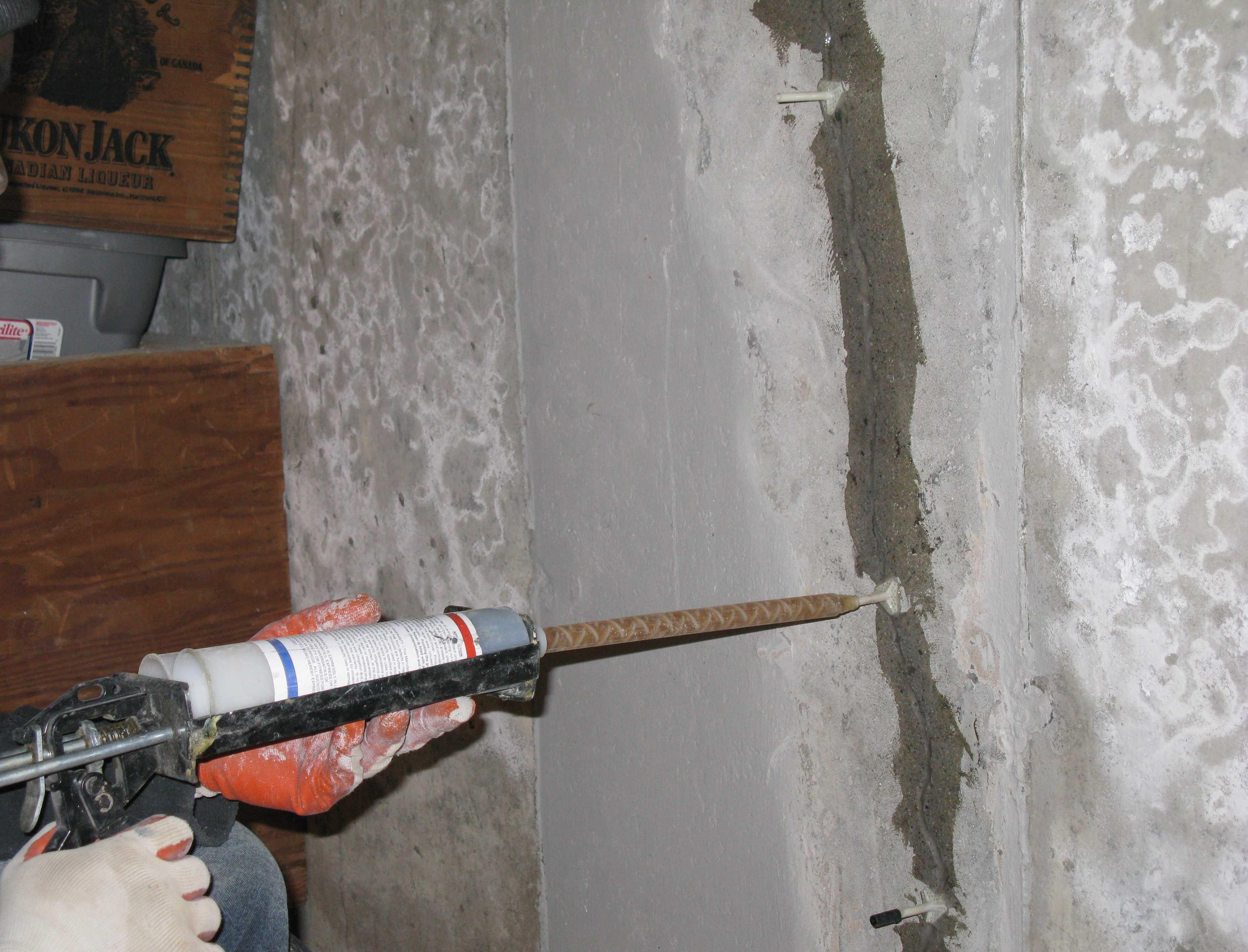 Epoxy Cement Repair : Are wall cracks repair materials safe lakewood oh