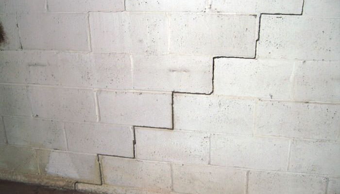Cleveland, OH   Cracks in foundation   Ohio State Waterproofing